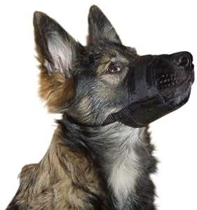 Kerbl Chien Muselière Nylon 18-24 cm Noir