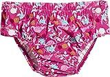 Playshoes Baby-Mädchen Schwimmwindel UV-Schutz Windelhose Flamingo zum Knöpfen, (Türkis 15), 74 (Herstellergröße: 74/80)