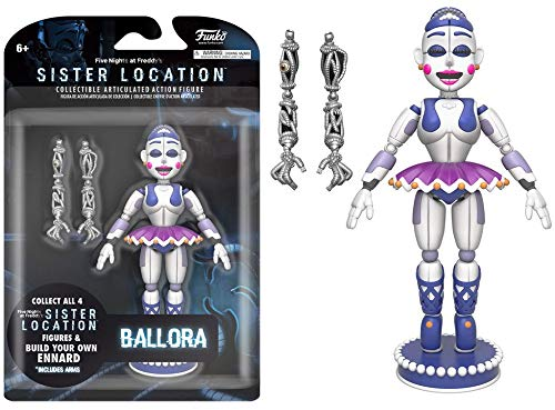 Funko 13743 Five nights at Freddys Fnaf Ballora Action Figure