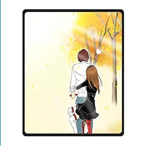 Coutume Romantic non-tissé Couverture et Jeter Blanket and Throw pour