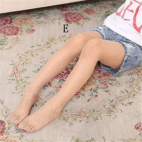ädchen Spitze Netzstrümpfe Sommer Kinder Schwarze Strumpfhosen Netzstrumpfhosen Zerrissene Jeans Net Grid Strümpfe ()