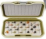 ARC Fishing Flies gs-vs Fly Box & Fliegenfischen Fliegen 25gold Headed Nymphe Signalempfänger Haken Größe 12