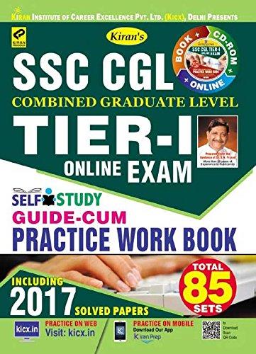 Kiran's SSC CGL Tier – I Exam Self Study Guide-Cum-Practice Work Book - 2103