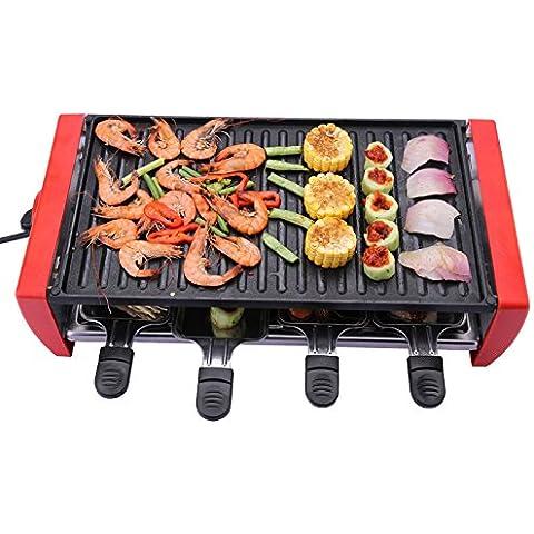 Coreana Grill doppio elettrico forno cottura gas
