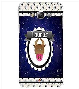 PrintDhaba Zodiac Taurus D-2765 Back Case Cover for SAMSUNG GALAXY GRAND MAX (Multi-Coloured)