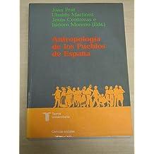 Antropología de los pueblos de España (Taurus universitaria : Ciencias sociales)
