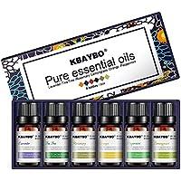 KBAYBO Aromatherapie Top 6 Anzug (10ml X 6Flasche) Ätherische Öle Blend Sets (Lavendel/Teebaum / Rosmarin/Orange... preisvergleich bei billige-tabletten.eu