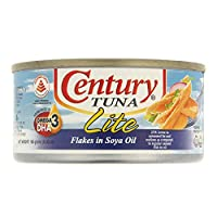 ‏‪Century Tuna Flakes In Veg Oil Lite - 180 gm‬‏