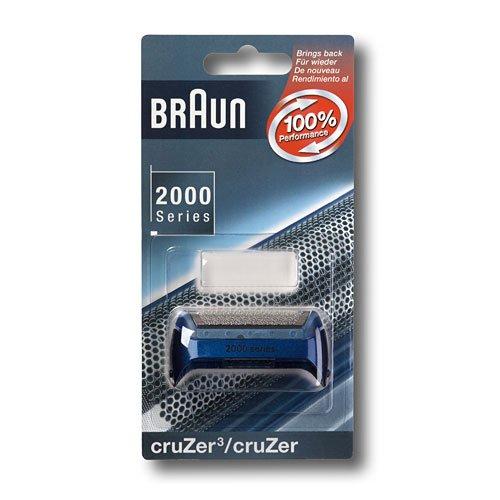 Braun Scherfolie für CruZer blau für Rasierer (CruZer Einfoliensystem-Rasierer)