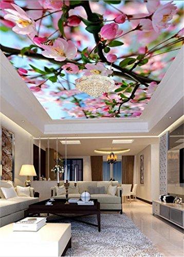 Chlwx 200cmX150cm (78.7inX55.100in) 3D Wandbild Tapeten Decke Wand Papier Hd Schöne Blumen Foto Wohnzimmer 3D Fototapete