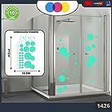Aufkleber für docce-fantasia Seifenblasen Cod.1426(grün Wasser)