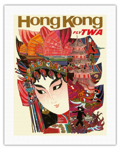 hong-kong-trans-world-airlines-fly-twa-vintage-airline-travel-poster-by-david-klein-c1960s-fine-art-