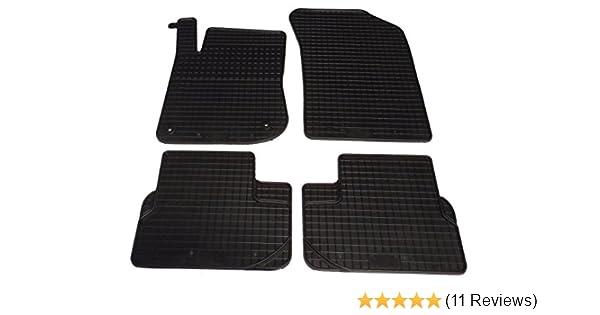 Fußmatten Auto Autoteppich Velours Set passend für Peugeot 208 2012-2019