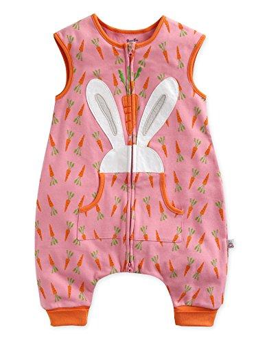Kleinkinder Maedchen 100% Baumwolle Ostern Kostüm Schlafsaecke Decke Secret Bunny Sleep M (M&m Kostüm Kinder)