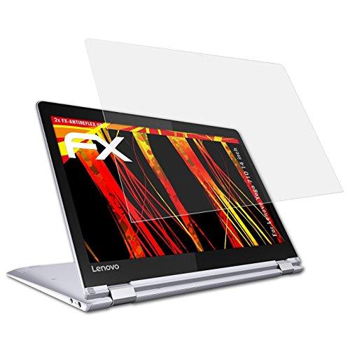 atFolix Schutzfolie kompatibel mit Lenovo Yoga 710 14 inch Displayschutzfolie, HD-Entspiegelung FX Folie (2X)