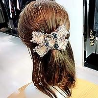Diamant-Stoff Haar Kleine Süße Bowknot Haarnadel Frühling Wind Schachtelhalm Klammer Top Prominente Frühling Clip