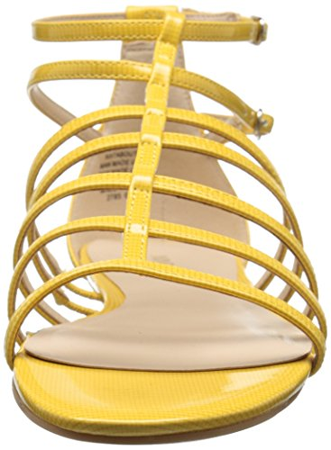 Nine West Aboutthat sintetico Dress Sandal Yellow Synthetic