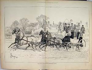 Copie de Chevaux du Pont 1876 de Hymen d'Entraîneur d'Oxford Vieille
