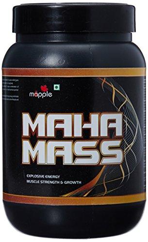 GRF Ayurveda Maha Mass Whey Protein Supplement - 300 g (American Ice Cream)