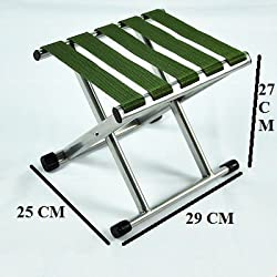 VALAMJI Outdoor Portable Folding Chair Camping Hiking Fishing Picnic Stool Chair Seat