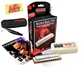 #3: Hohner Marine Band 1896 Classic Harmonica Bundle with Carrying Case - Key of F