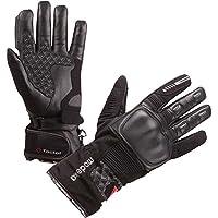 Modeka TACOMA Handschuh Herren Leder/Textil wasserdicht - schwarz Größe 8