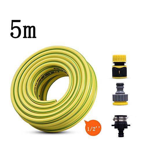 Druckluftschlauch 5M Mit Schnellkupplungen,Gelb