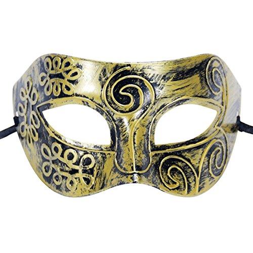 askerade Maske Party Maskenspiel Geheimnisvoll Prinz Baron Kostüm für Halloween Weinnachten Festival (Venedig Festival Kostüme)