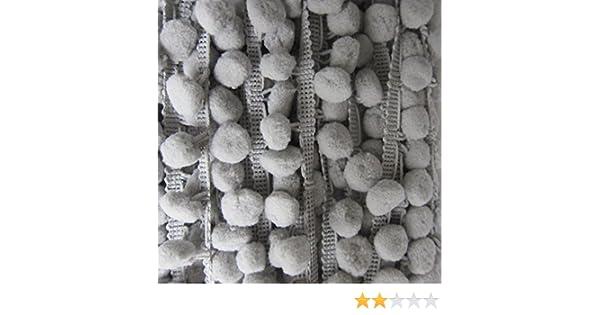 10 mm 22 m 10 mm babyrosa N/ähen Accessories Attic Bommelborte Handarbeiten