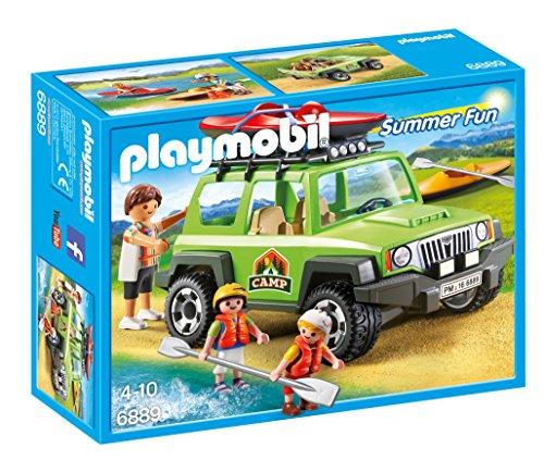 Playmobil – 6889 – Camp SUVs avec kayaks