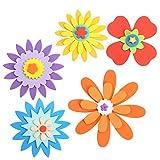 TOYMYTOY Espuma Pegatinas de Espuma Autoadhesivas para el bebé Kids Room Decoración de jardín de infancia 5 Set