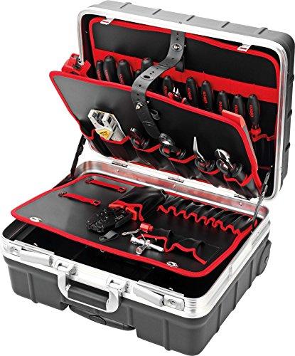 Cimco Trolley-Werkzeugkoffer 17 0600 Industrie Werkzeugset 4021103706008