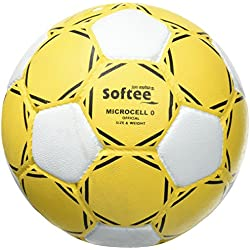 Softee Equipment 0002360 Balón Micro Celular 0, Blanco, S