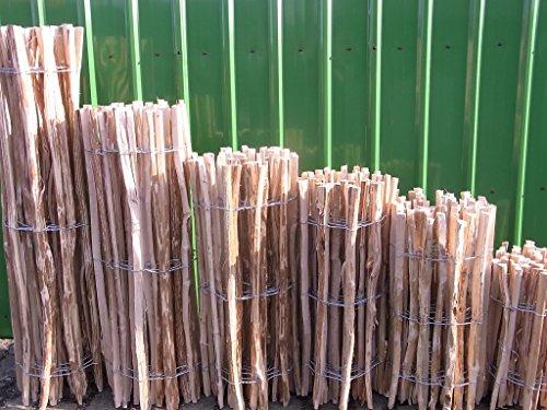 BIHL Staketenzaun Lärche in 12 Verschiedenen Größen 5 m (500 cm)