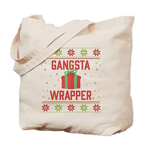 (CafePress Gangsta Wickeltasche, canvas, khaki, M)