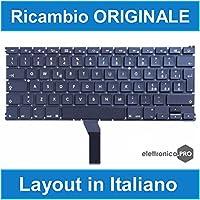 "Zemra Tastiera Originale per Apple MacBook Air 13"" Pollici A1369 e A1466 Layout Italiano"