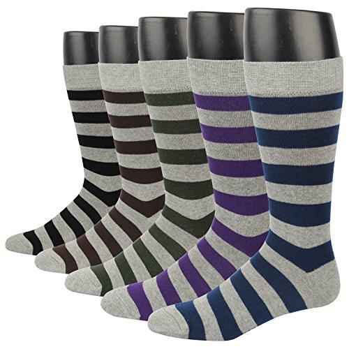 Gran promoción- EU 42/48 Calcetines cortos para hombre talla Vestir/Casual O Trabajar 100% Algodón En Caja (Hombre EU Size 44.5-49/ UK 10-13.5, MSK44X-5 pares de calcetines)