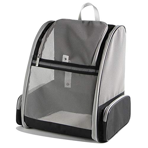 HFOUR Haustier Rucksack-Pet Carrier Puppy Bag, Katze Rucksack Transport Shoulder Bag, Leichtgewicht Klappbare, 42 * 32 * 38 cm -