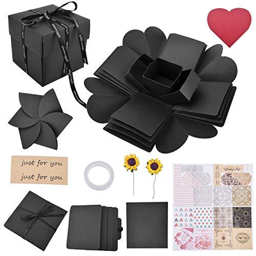 DIY Geschenkbox Explosion Box Kreative Überraschung Scrapbook Album für Hochzeit, Muttertag, Danksagung, Weihnachten
