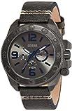 Guess Herren-Armbanduhr Chronograph Quarz Leder W0659G3