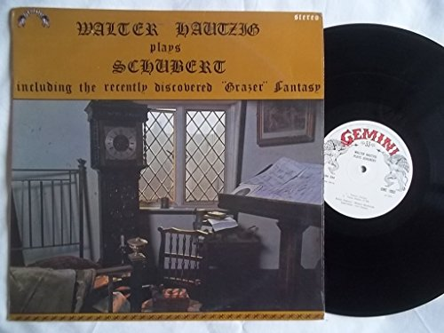 GME 1003 WALTER HAUTZIG Plays Schubert LP