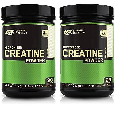 Optimum Nutrition Micronised Creatine Powder 317g x 2 = 634g from Optimum Nutrition