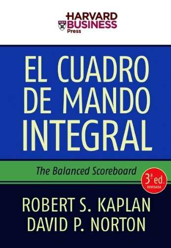 El Cuadro de Mando Integral: The Balanced Scoreboard por David Norton