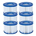 Lay Z Spa Filters Size VI – Pack of 6 Filters | Bestway Filters for use with Lay Z Spa Vegas, Lay Z Spa Monaco, Lay Z Spa Miami, Lay Z Spa Premium Series 4 and Lay Z Spa Platinum