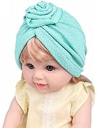 2b8e91a1ffbb Fulltime® 2- 8 mois Bébé Fille Garçon Bonnets Boho Hat Beanie Écharpe ...
