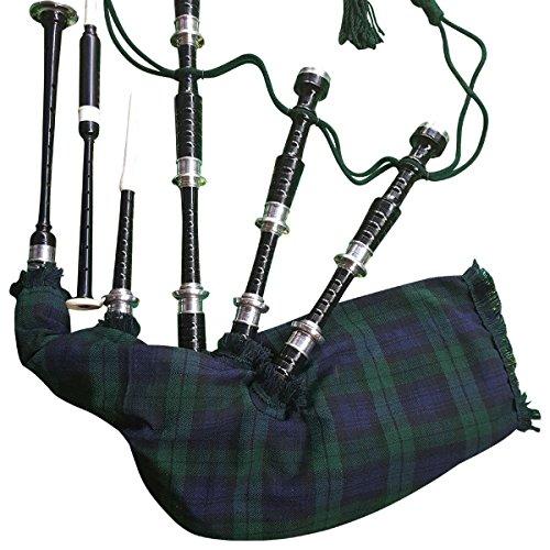 Highland Wear Dudelsack für Anfänger, komplettes Set mit Buch zum Spielen von Dudelsack