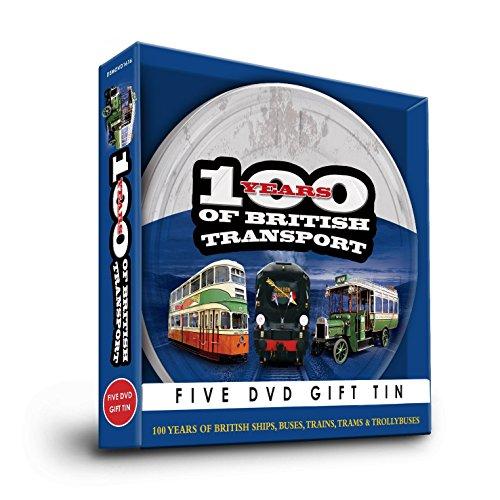 Demand 100Jahre der British Transport DVD Geschenk Dose Set–5Disc 's