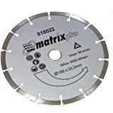 AERZETIX - DIAMOND CUTTING DISC SEGMENTED DRY FOR ANGLE GRINDER SAW 180MM .