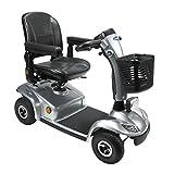 Elektromobil Leo 6 km/h silber, (HMV) Scooter von Invacare das smarte Seniorenmobil/E-Mobil inkl. Anlieferung/Einweisung/Aufbau vor Ort