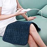 12x24in/30x60cm Electric Heating Pad Fast Heating with 6 Temperature Settings Heated Pad
